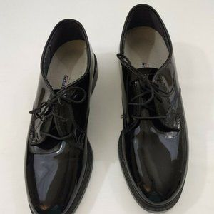 Capps Air Lite Shoes 8.5 M Black Patent Leather